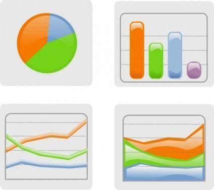 free vector Graphs clip art