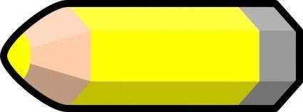 free vector Yellow Pencil clip art