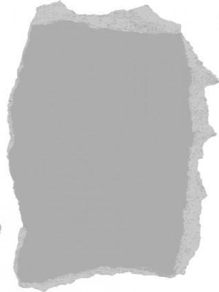 Torn Paper clip art