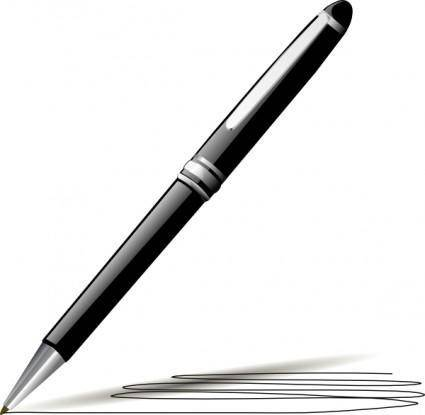 Stylish Pen clip art