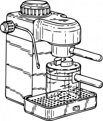 Espresso Maker clip art