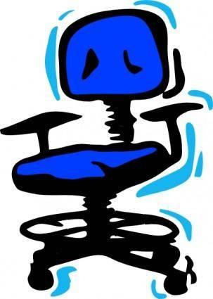 free vector Office Chair clip art
