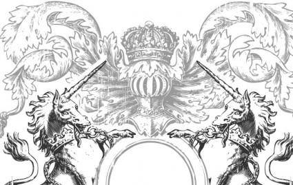 free vector Heraldry Vector Art