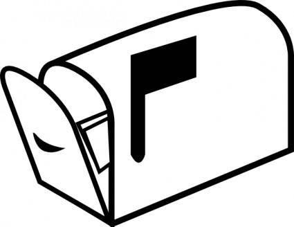 Mailbox 3 clip art
