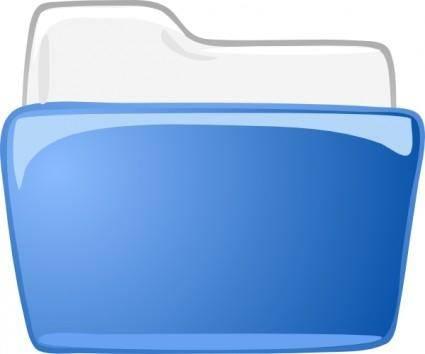 Cartella Dossier Directory clip art