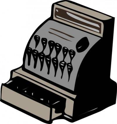 Cashier Drawer clip art