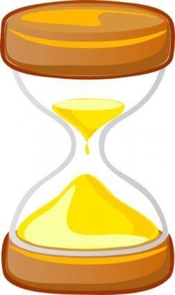 free vector Hour Glass clip art