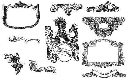 Heraldry & Flousrishes