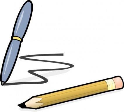 free vector Pen & Pencil clip art