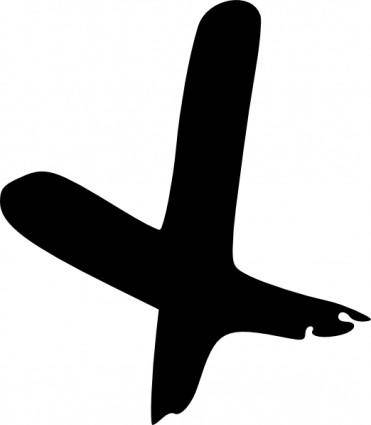 free vector Cross Hand Drawn clip art