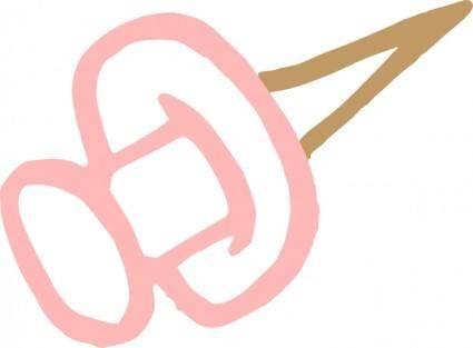 Thumbtack clip art