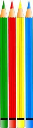 free vector Color Pencils clip art