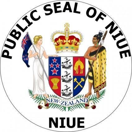 free vector Public Seal Of Nieu clip art