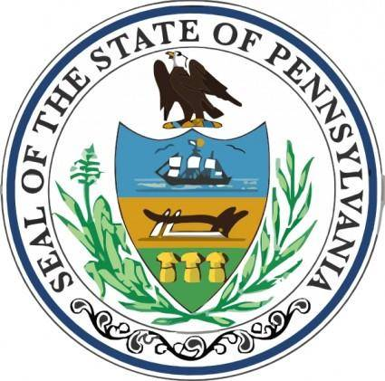 free vector Pennsylvania State Seal clip art