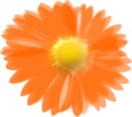 Flower Inked clip art