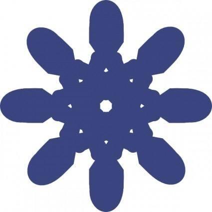 free vector Octagonal Building Plant clip art