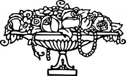 Roses Ornament clip art