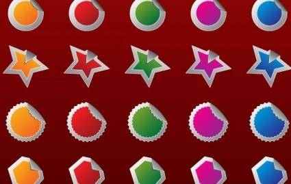 free vector Free High Quality Vector 2 - badges
