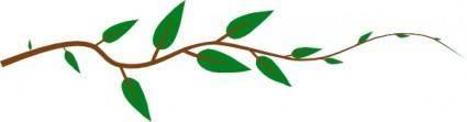 free vector Leaf Vine clip art