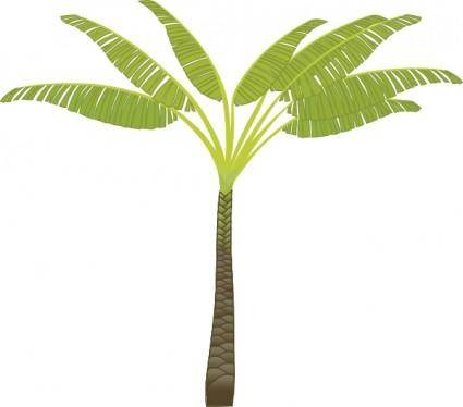 free vector Palm Tree clip art