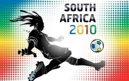free vector South Africa 2010 World Cup Wallpaper