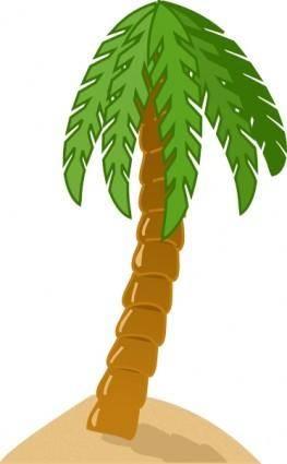 free vector Palmtree clip art