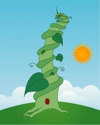 Beanstalk clip art