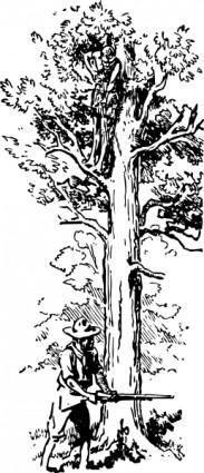 free vector Tree Plant clip art