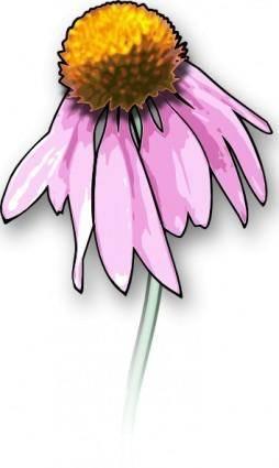 Dead Flower clip art