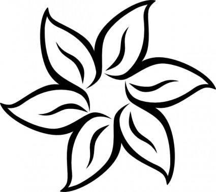 Decorative Flower clip art
