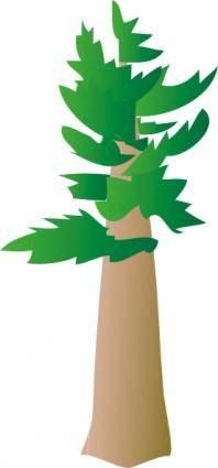 free vector White Pine Tree clip art