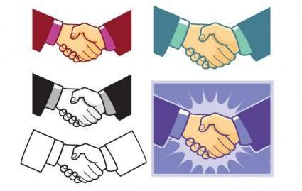 free vector Handshake Vector