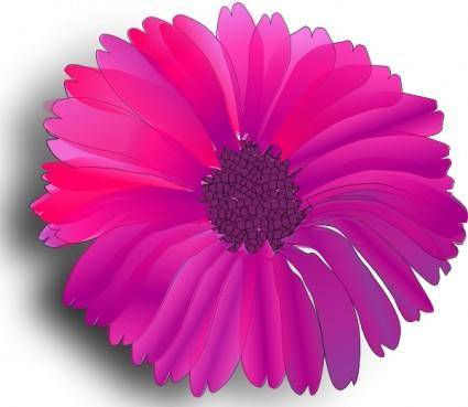 free vector Pink Flower clip art