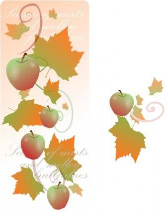 Autumn Decorations clip art