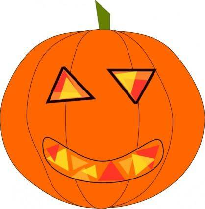 free vector Haloween Pumpkin clip art