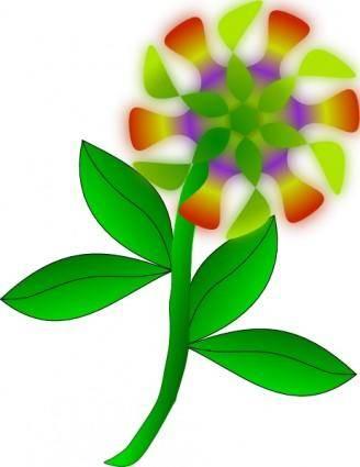 Strange Flower clip art