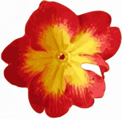 Flower Pedals clip art