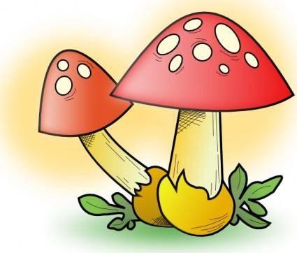 free vector Romanov Mushroom clip art