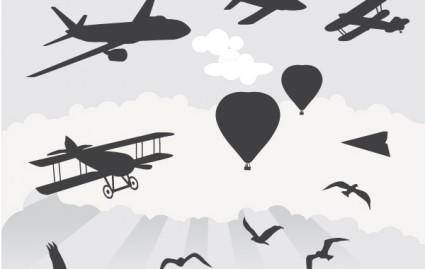 free vector Things that fly