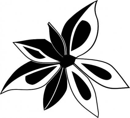 free vector Anise Plant clip art