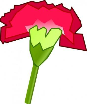 free vector Carnation Flower clip art