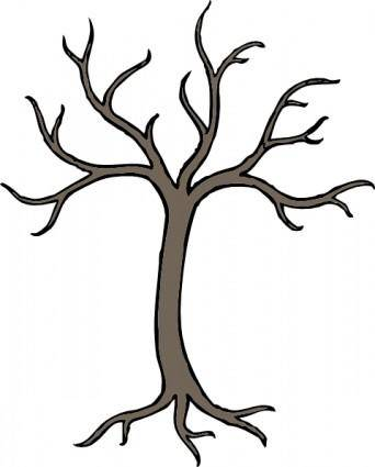 free vector Bare Dead Tree clip art