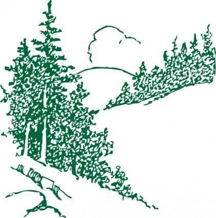 Pines clip art