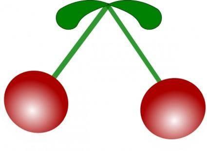 free vector Cherries clip art