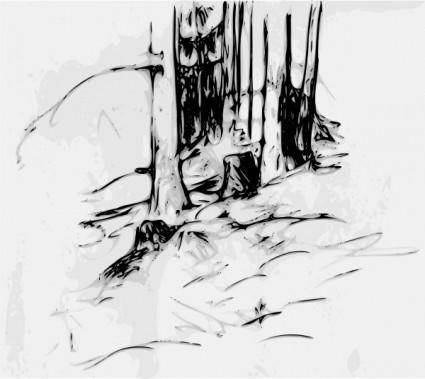Forest_trees_oberzeiring2004 clip art