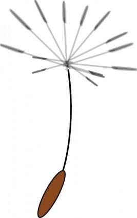 free vector Dandelionseed clip art