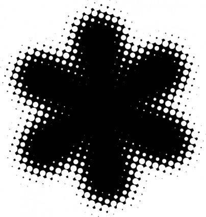free vector Flower Shape clip art