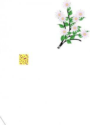 free vector Bunch Of Flowers clip art