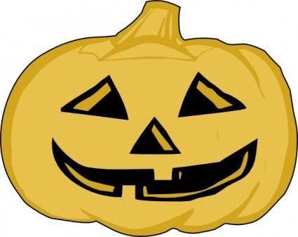 Pumpkin Lantern clip art