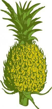 free vector Pineapple clip art